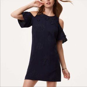 Loft | Appliqué Dress